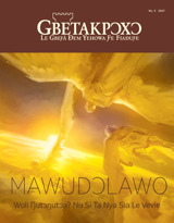No.5 2017| Mawudɔlawo—Woli Ŋutɔŋutɔa? Nu Si Ta Nya Sia Le Vevie