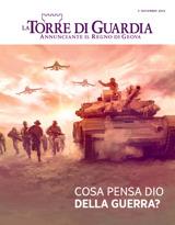 Novembre2015| Cosa pensa Dio della guerra?