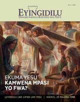 N.°2 2016| Ekuma Yesu Kamwena Mpasi yo Fwa?