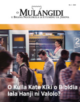 N.°1 2018| O Kuila Katé Kiki o Bibidia Iala Hanji ni Valolo?