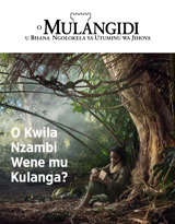 N.°3 2018| O kwila Nzambi Wene mu Kulanga?