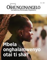 No.2 2019| Mbela onghalamwenyo otai ti sha?