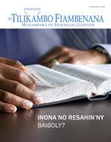 Oktobra2013| Inona no Resahin'ny Baiboly?