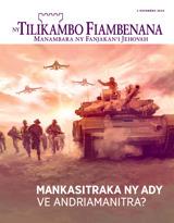 Novambra2015| Mankasitraka ny Ady ve Andriamanitra?