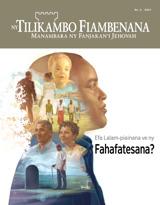 No.4 2017| Efa Lalam-piainana ve ny Fahafatesana?