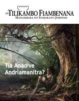 No.3 2018| Tia Anao ve Andriamanitra?