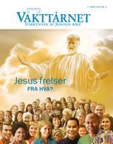 Mars2015  Jesus frelser – fra hva?