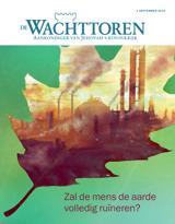 september2014| Zal de mens de aarde volledig ruïneren?