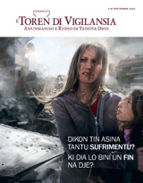 Sèptèmber2013| Dikon Tin Asina Tantu Sufrimentu? Ki Dia Lo Bini un Fin na Dje