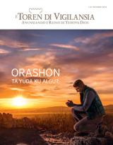 Òktober2015| Orashon Ta Yuda ku Algu?