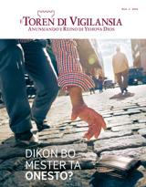 Num.1 2016| Dikon Bo Mester Ta Onesto?