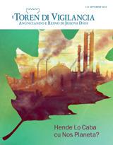 September2014| Hende Lo Caba cu Nos Planeta?