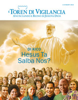 March2015| Di Kico Hesus Ta Salba Nos?