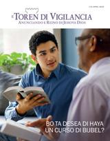 April2015| Bo Ta Desea di Haya un Curso di Bijbel?