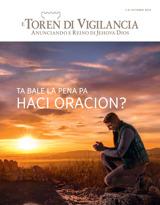 October2015| Ta Bale la Pena pa Haci Oracion?