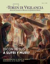 Num.2 2016| Dicon Hesus A Sufri y Muri?