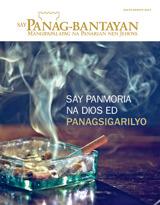 Hulyo2014| Say Panmoria na Dios ed Panagsigarilyo