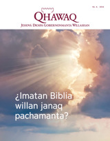 Núm.6 2016  ¿Imatan Biblia willan janaq pachamanta?