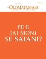 Novema2014| Pe e Iai Moni se Satani?