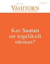 November2014| Kas Saatan on tegelikult olemas?