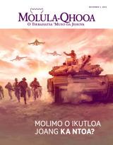 November2015| Molimo o Ikutloa Joang ka Ntoa?