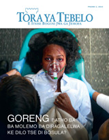 July2014| Goreng Batho ba ba Molemo ba Diragalelwa ke Dilo Tse di Bosula?