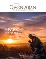 October2015| Mpaebɔ—Ɛho Hia Anaa?