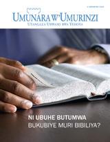 Ukwakira2013| Ni ubuhe butumwa bukubiye muri Bibiliya?