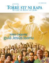 Marzo de2015| Xiñee caquiiñe' gulá Jesús laanu