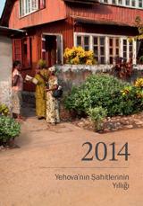 Yehova'nın Şahitlerinin 2014 Yıllığı