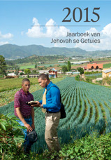 Jaarboek van Jehovah se Getuies vir 2015