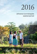 Jehoova tunnistajate aastaraamat2016