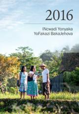 INcwadi Yonyaka YoFakazi BakaJehova Ka-2016