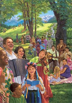 Abantu aba mitundu yalekanalekana baleipakisha Paradaise pamo