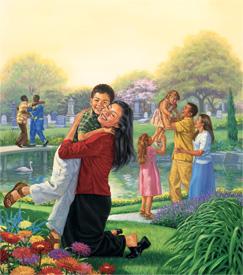 Paradis ah mithi an thoṭhan