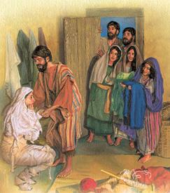 Petrus el olekiis er a Dorkas