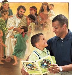 1. Tuatua ra a Iesu ki te tamariki; 2. Tuatua ra tetai metua tane ki tana tamaiti.