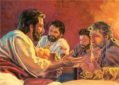 Yesus e gi leri na den disipel fu en