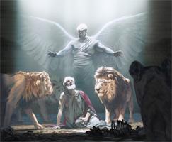 Wan engel e kibri Danièl na ini a lew-olo