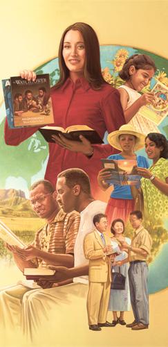 Ехованың Гүвәчилери хош хабары вагыз эдйәр