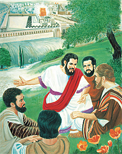 Jésus ek so bann zapotre