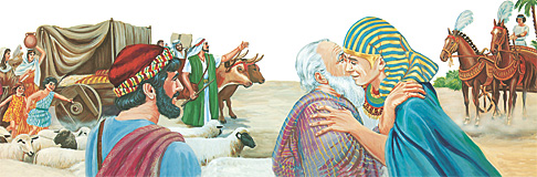 Иаков ҫемьи Египета каять