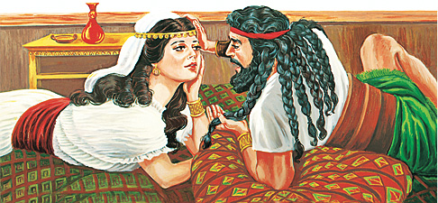 Samson da Delilah