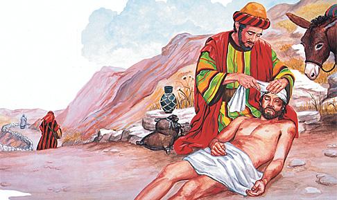 Ang mabinuligon nga Samaritano