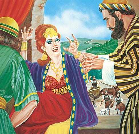 Jesebel drottning