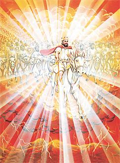 하늘에서 왕으로 다스리시는 예수