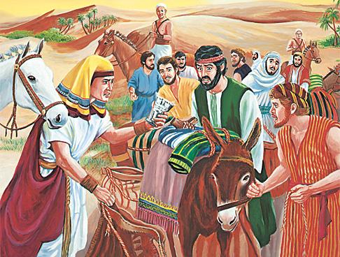 추궁당하고 있는 요셉의 형제들