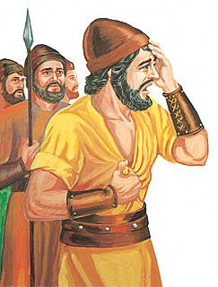 Jefta ar saviem vīriem