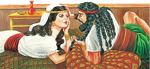 Dalila bätä Sansón