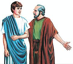 Timoteus naPaulus